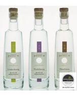 Edelbrand Probierpaket 1 (3 x  100 ml), Destillerie im Bienenhof Pausch