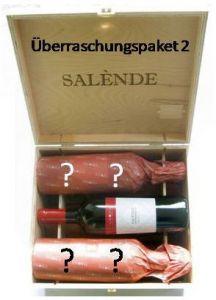 Überraschungspaket 2 mit 6 Flaschen aus Europa in Original-Holzkiste