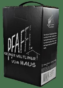 Grüner Veltliner vom Haus 2019 Bag-in-Box 3l, Weingut R&A Pfaffl