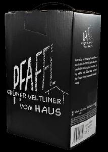 Grüner Veltliner vom Haus 2020 Bag-in-Box 3l, Weingut R&A Pfaffl