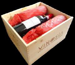6 Flaschen Taurasi Vigna Marziacanale DOCG 2013 in Original-Holzkiste, VINOSIA Aziende Agricole