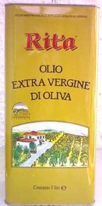 Olio Extra Vergine di Oliva Rita Salvadori, 5l Kanister, Toskana