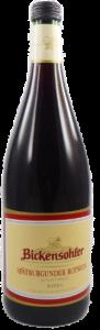 Spätburgunder Rotwein halbtrocken 2014 1 Liter, WG Bickensohl - SALE -