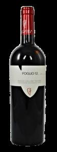 Foglio 12 Rosso Teatine IGT tr. 2018 (IT-Bio-009), Fattoria Teatina